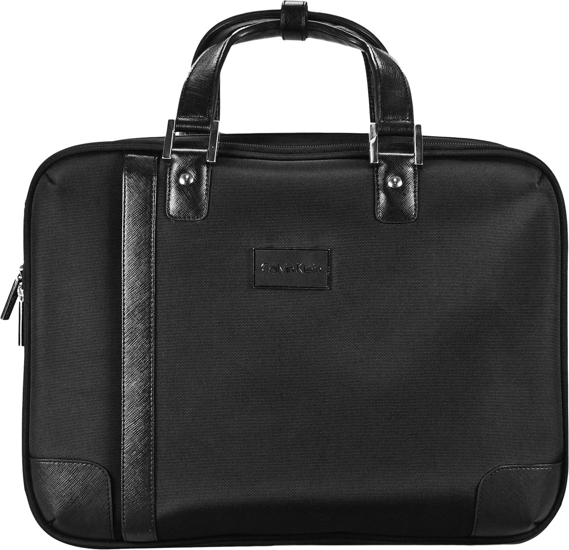 Calvin Klein Avalon 2.0 Laptop Case, Black, One Size
