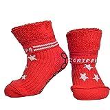 """""""GRIPPA"""" calcetines antideslizantes para niños con estrellas de diseño. Hechos en Gran Bretaña y aprobado por los principales expertos en la salud del pie del Reino Unido"""
