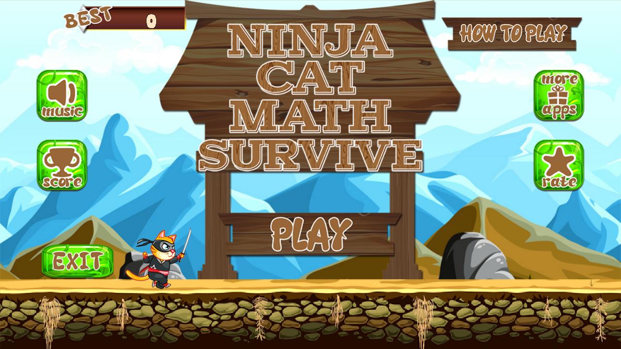 Ninja Cat matemáticas sobrevive: Amazon.es: Appstore para ...