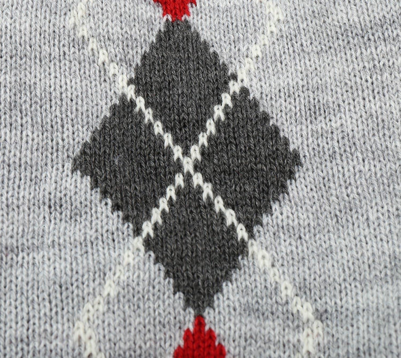 Argyle Knit Pet Sweaters Clothes for Pets