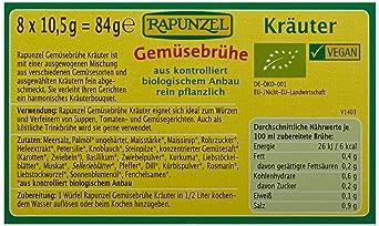 bff21e65ddf183 Rapunzel Bio Gemüse-Brühwürfel mit Kräutern