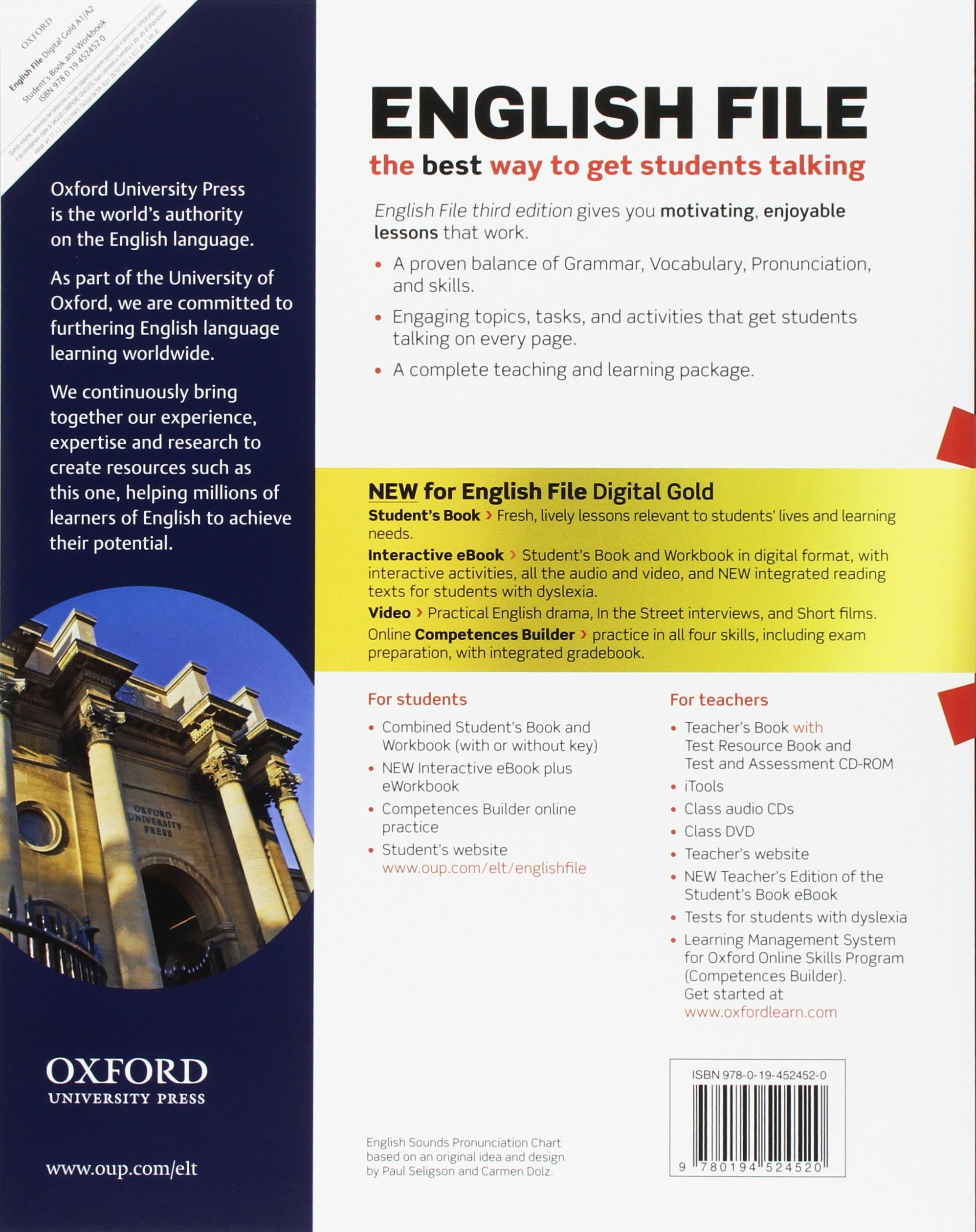 English file gold. A1-A2 premium. Students book-Workbook. Per le ...