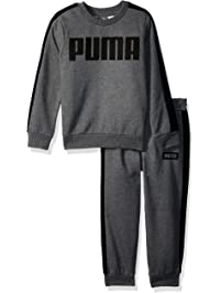 PUMA Boys Boys' Rebel 2 Piece Set Sweatshirt