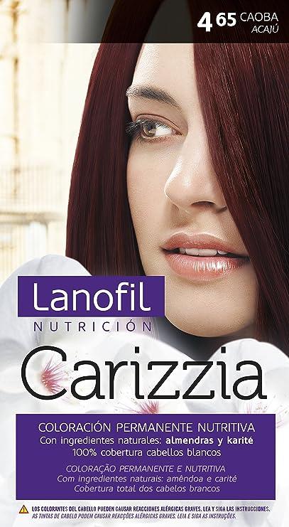 Lanofil carizzia tinte 4, 65 caoba: Amazon.es: Belleza