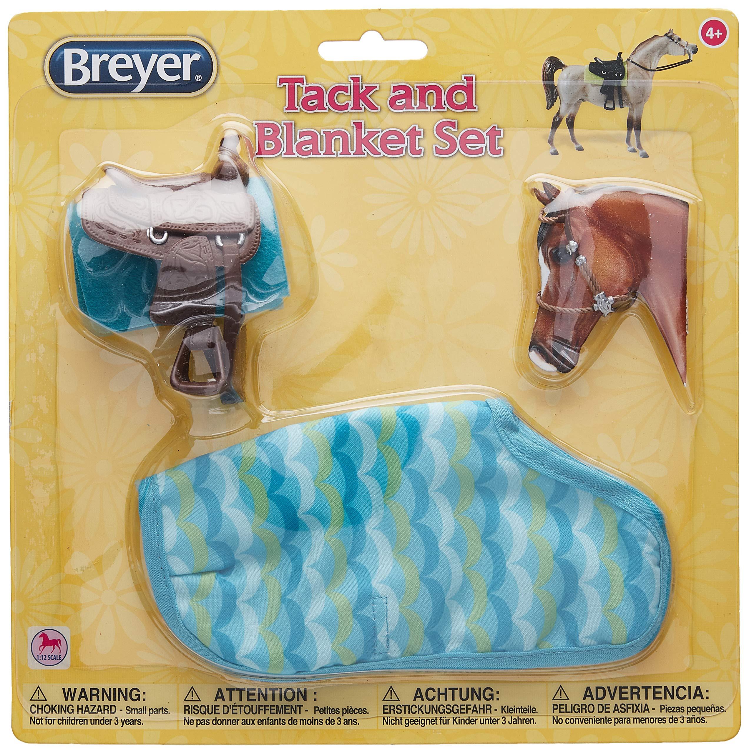 Breyer Classics Toy Saddle Set and Blanket Asst. by Breyer