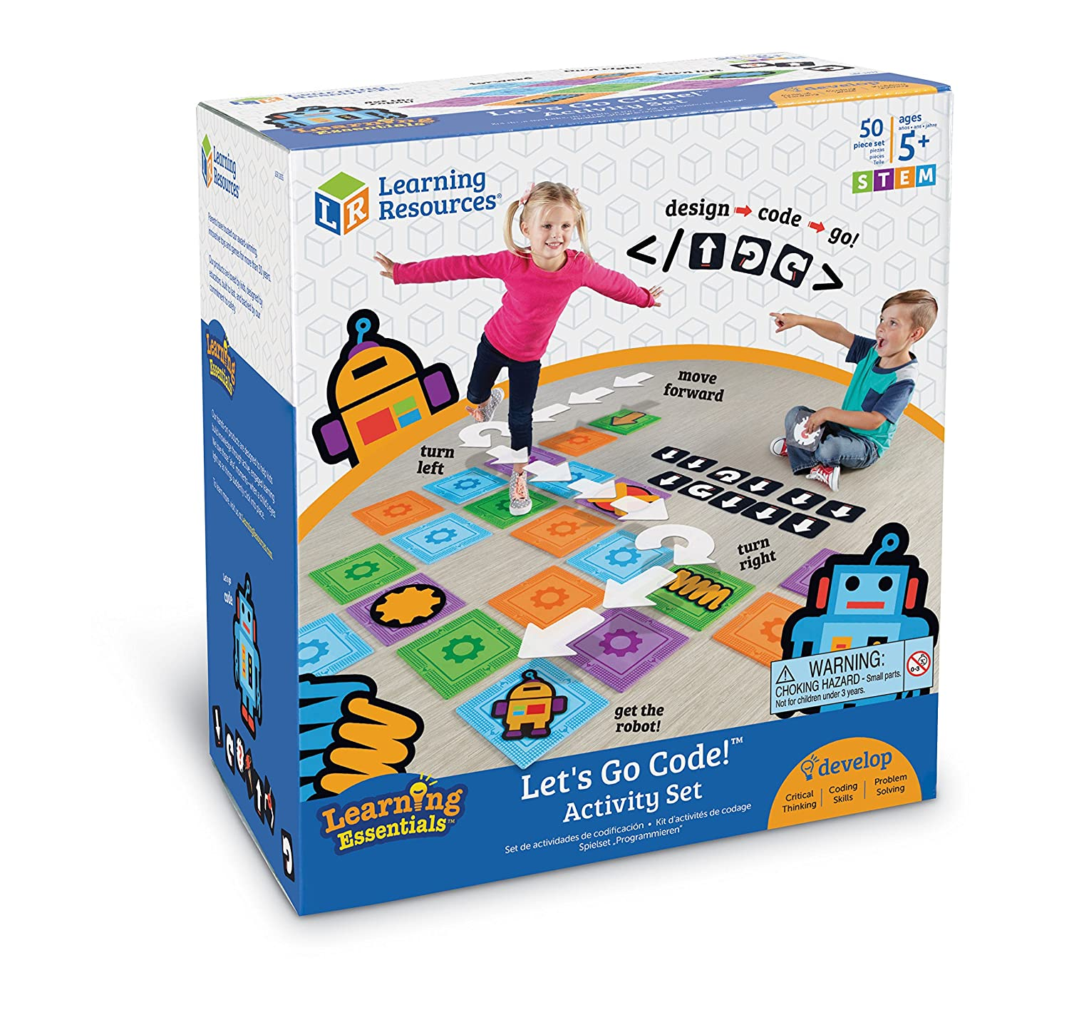 Amazon Learning Resources Let s Go Code Activity Set 50