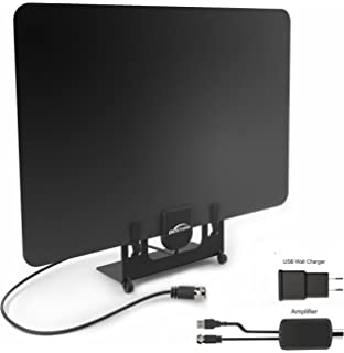 TV Antenna, BESTHING Indoor HDTV Antenna 50 Mile Range with 3ft Amplifier Signal Booster and