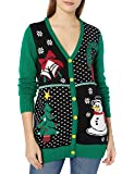 Ugly Christmas Sweater Company Women's Assorted Xmas Cardigan Sweaters