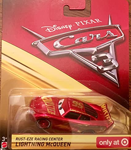 Amazon Com Disney Pixar Cars 3 Rust Eze Racing Center Lightning