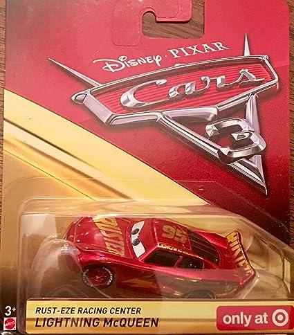 Disney Pixar Cars 3 Rust Eze Racing Center Lightning Mcqueen Target Exclusive