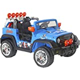 Avengers 12V Dynacraft Ride-On, 4 x 4, Blue