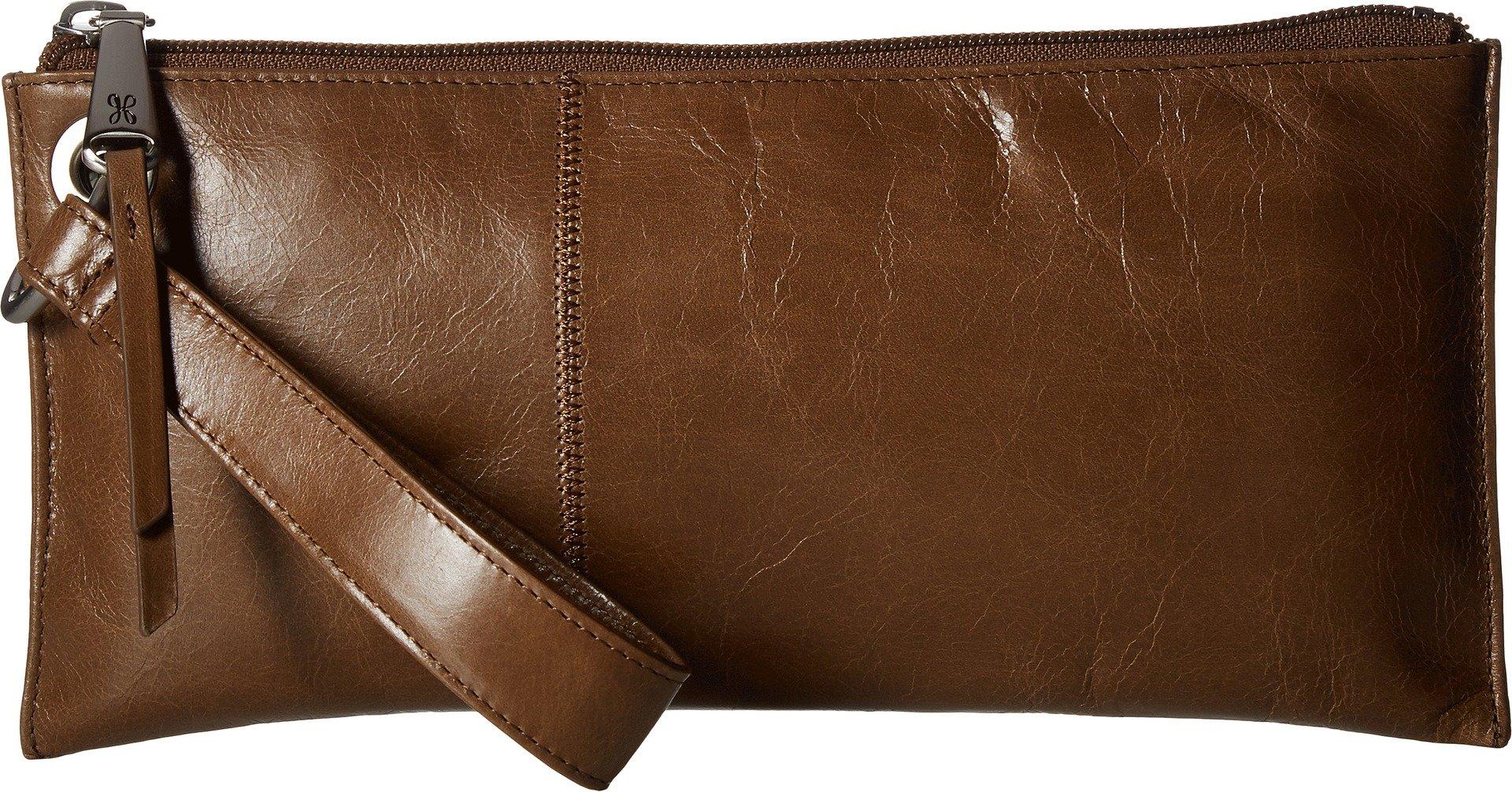 Hobo Womens Leather Vintage Vida Clutch Wallet (Mink)