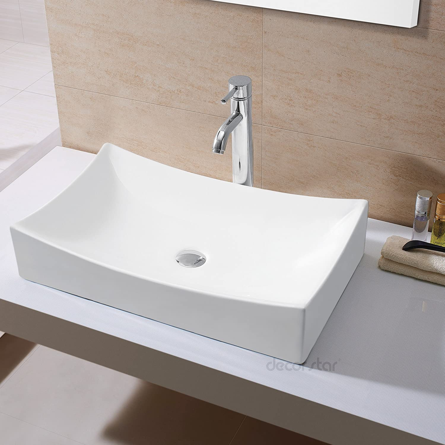 Merveilleux Decor Star CB 001 Bathroom Porcelain Ceramic Vessel Vanity Sink Art Basin      Amazon.com