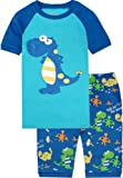 Amazon Price History for:shelry Boys Pajamas Truck Cotton Kids Clothes Short Sets Children Cartoon Sleepwear