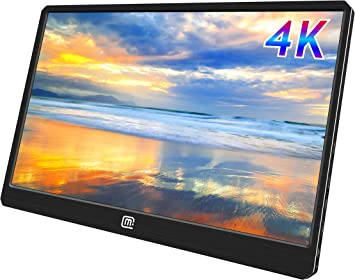 MageDok 4K Portable Monitor with USB Type-C/HDMI/Display Port Input,15.6 Inch, Ultra HD 3840x2160 IPS Dispaly,100% Adobe,Ultralight Weight 2bls,Slim 3.7 Inch,Built-In Speakers,Mountable: Amazon.es: Electrónica