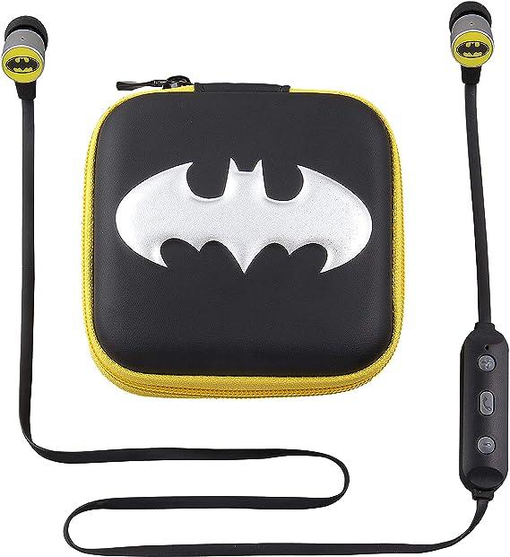 Batman - Auriculares inalámbricos Bluetooth y Funda de Viaje ...