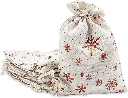 Christmas Presents Cloth Drawstring Gift Bag New!!!