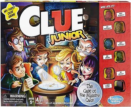 Hasbro Gaming-HAS-C1293-0000 (-) Clue Junior Juego, Color marrón/a, Original Version (C1293): Amazon.es: Juguetes y juegos