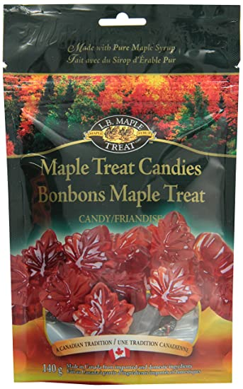 933743c7633 LB Maple Treat Hard Leaf Shaped Pure Sugar Candy   Flavored Candies Made  With Real Maple