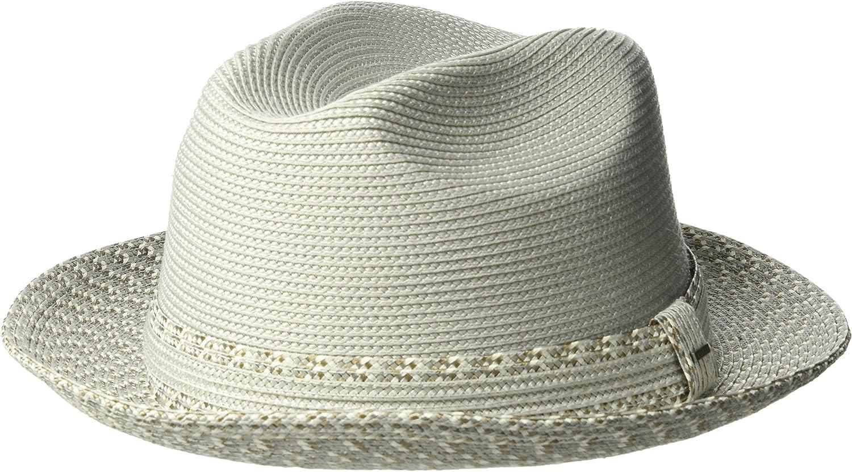 Bailey of Hollywood Mens Mannesroe Braided Fedora Trilby Hat