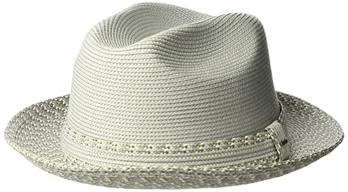 Bailey of Hollywood Men s Mannesroe Braided Fedora Trilby Hat at Amazon  Men s Clothing store  b9bc6810e199