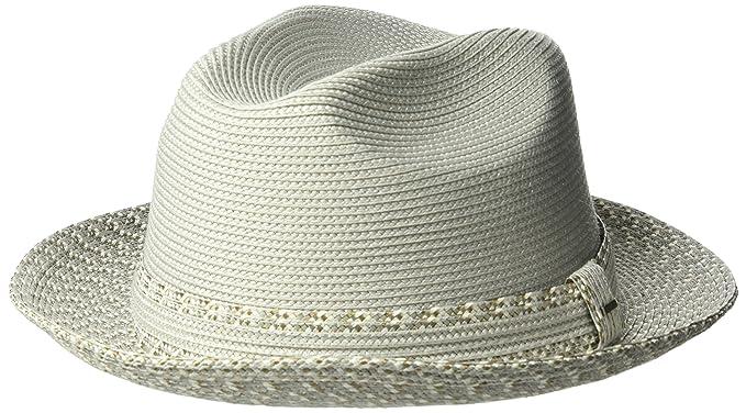 0059c2807 Bailey of Hollywood Men's Mannesroe Braided Fedora Trilby Hat