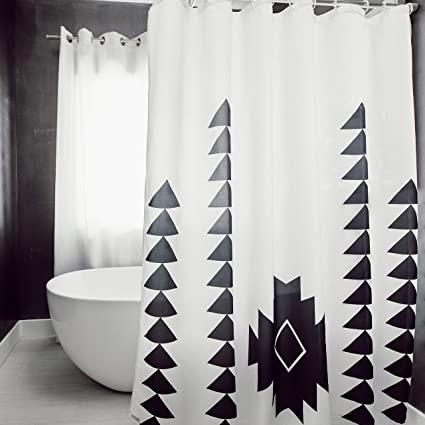 Amazon Woven Nook Fabric Shower Curtain 72 X Square With