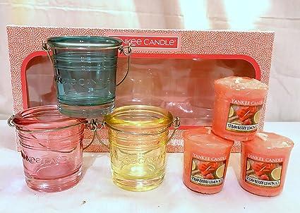 Yankee Candle 6-teiliges Votivkerzen-Set.