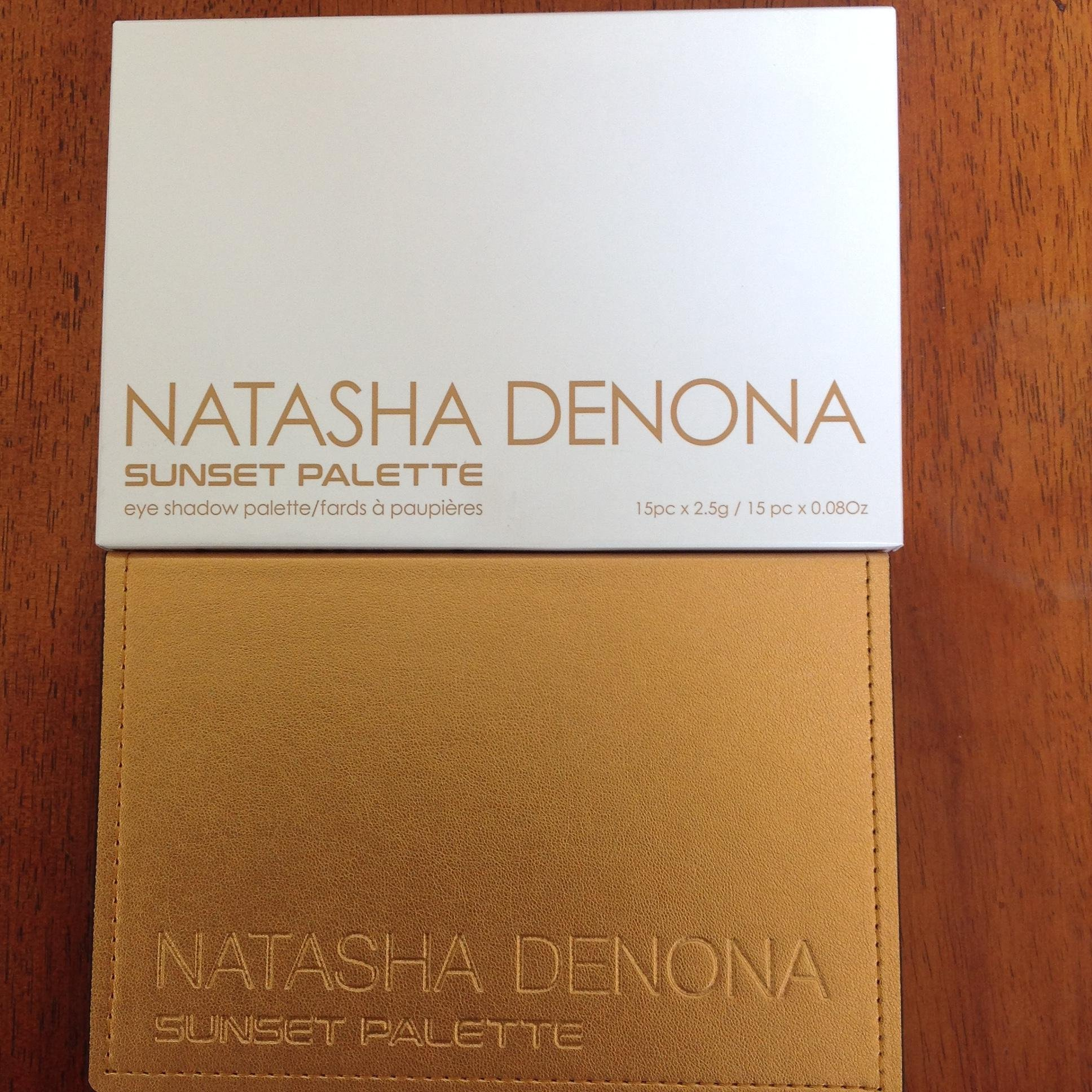 Natasha Denona SUNSET eyeshadow palette 2017