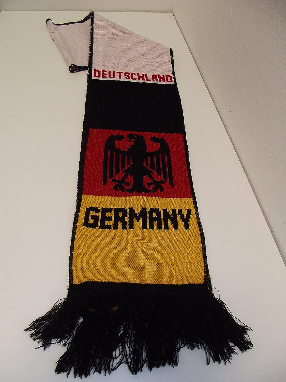 3 L/änderschal Germany Deutschland Schal Fanschal Strickschal Scarf Allemagne Nr