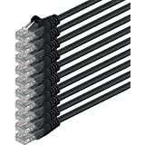 1aTTack 0.5m Cat6 UTP 0.5m Cat6 U/UTP (UTP) Black networking cable - networking cables (0.5 m, Cat6, U/UTP (UTP), RJ-45, RJ-45, Black)