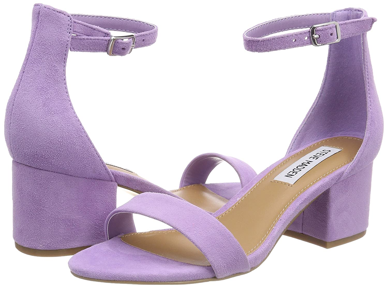 617be31d7d3 Steve Madden Women s Irenee Ankle Strap Sandals Purple (Lavender) 7 UK  Buy  Online at Low Prices in India - Amazon.in