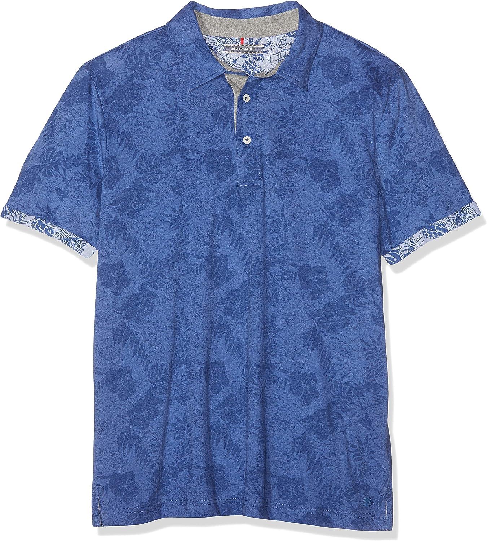Pierre Cardin Poloshirt Jersey Palmen Print Denim Academy Polo para Hombre: Amazon.es: Ropa y accesorios