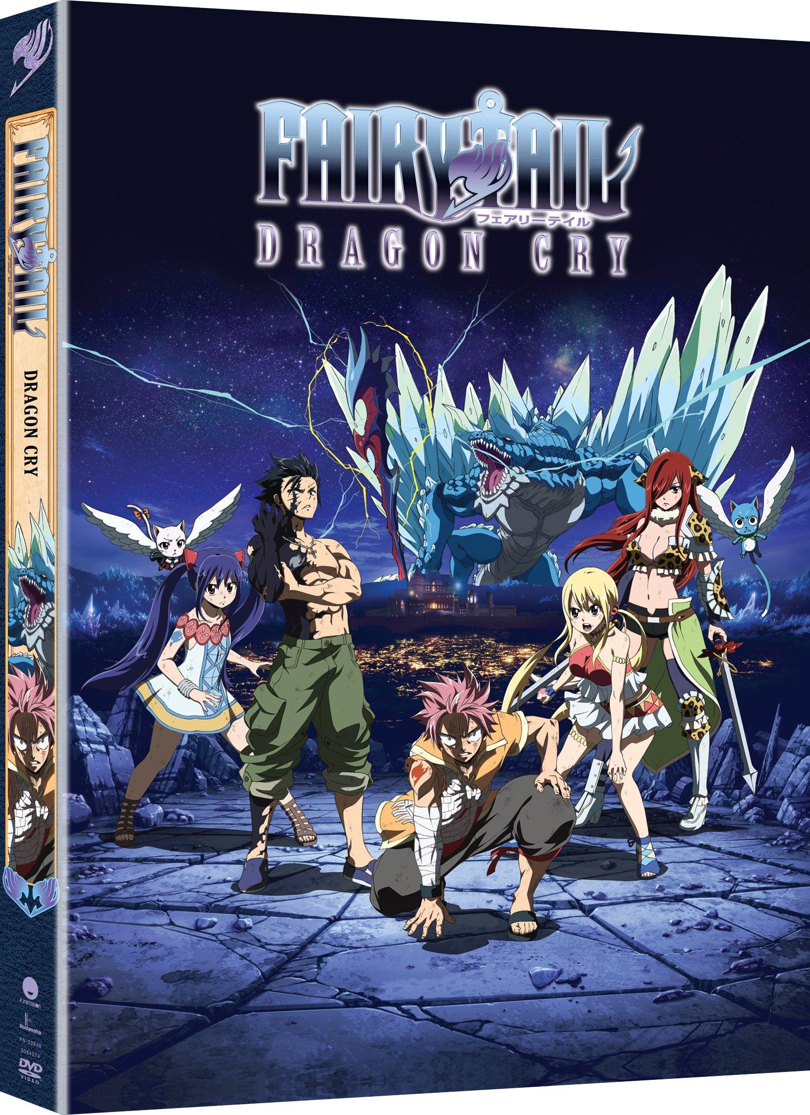 Fairy Tail: Dragon Cry - Movie (DVD)