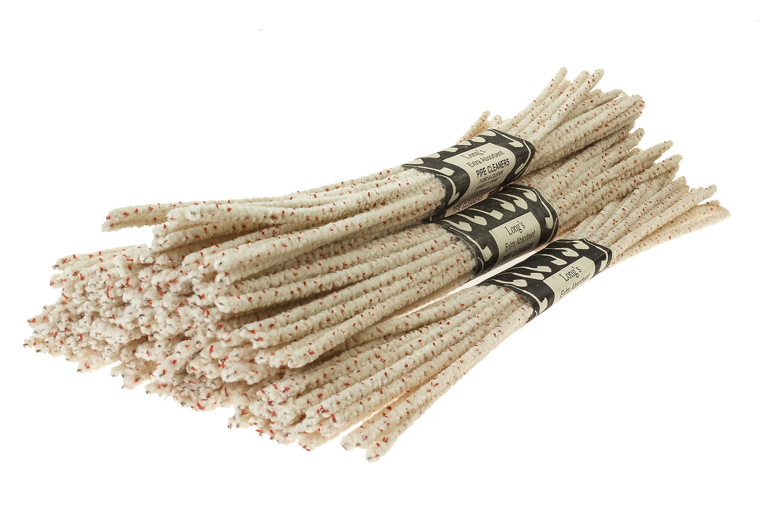 BJ Long Extra Absorbent Bristle Pipe Cleaners 12 Inch - 6 Pack TP-1437
