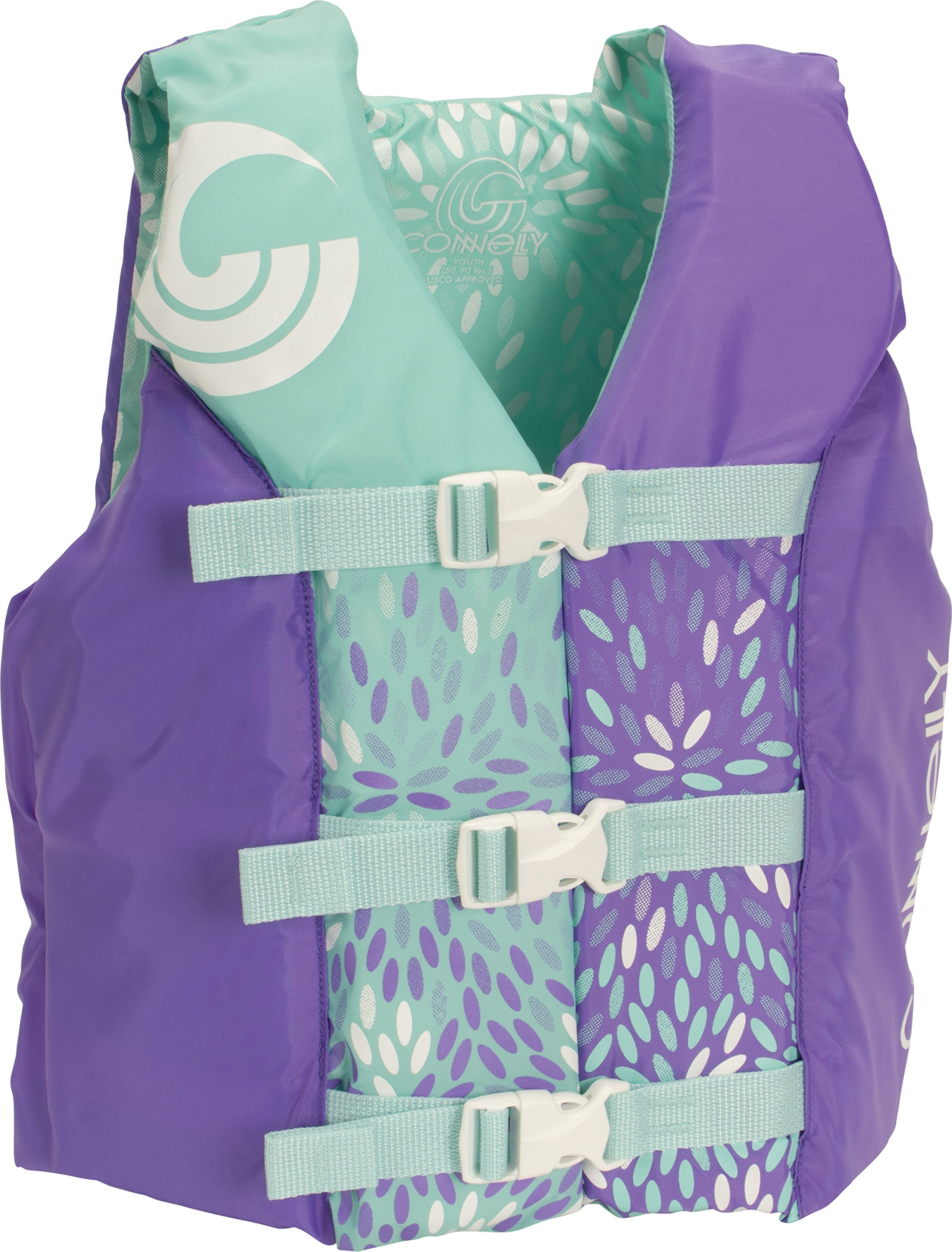 CWB Connelly Youth Nylon Vest, 24''-29'' Chest; 50-90Lbs, Girl Tunnel