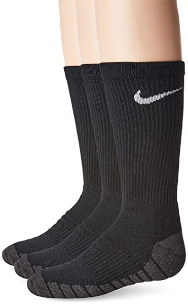 Socks 3 Pairs Nike unisex-child Dri-fit Crew Socks