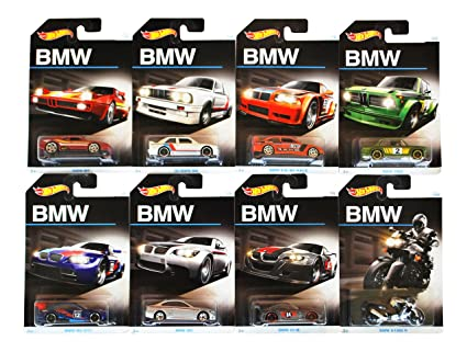 Amazon Com 2016 Hot Wheels Bmw 100th Anniversary Exclusive Series