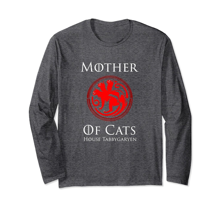 Mother Of Cats House Tabbygaryen Long Sleeve Shirt-fa