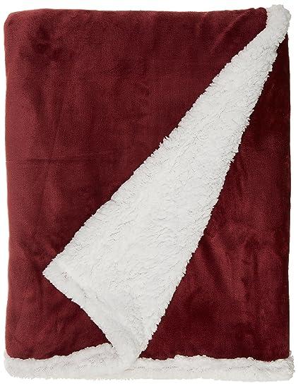 amazon com langria sherpa blanket super soft warm breathable