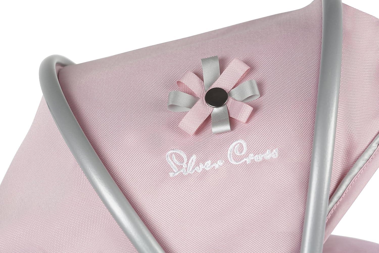 Amazon.es: Silver Cross Carrito para muñecos de Viaje Sleepover: Tejido Vintage Pink. Recomendado para niños de 5 a 9 años.: Juguetes y juegos