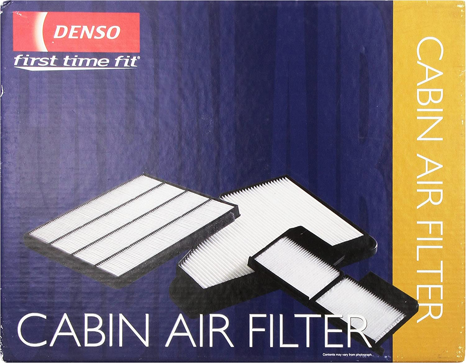 Denso 453-4000 First Time Fit Cabin Air Filter for Select Porsche Models