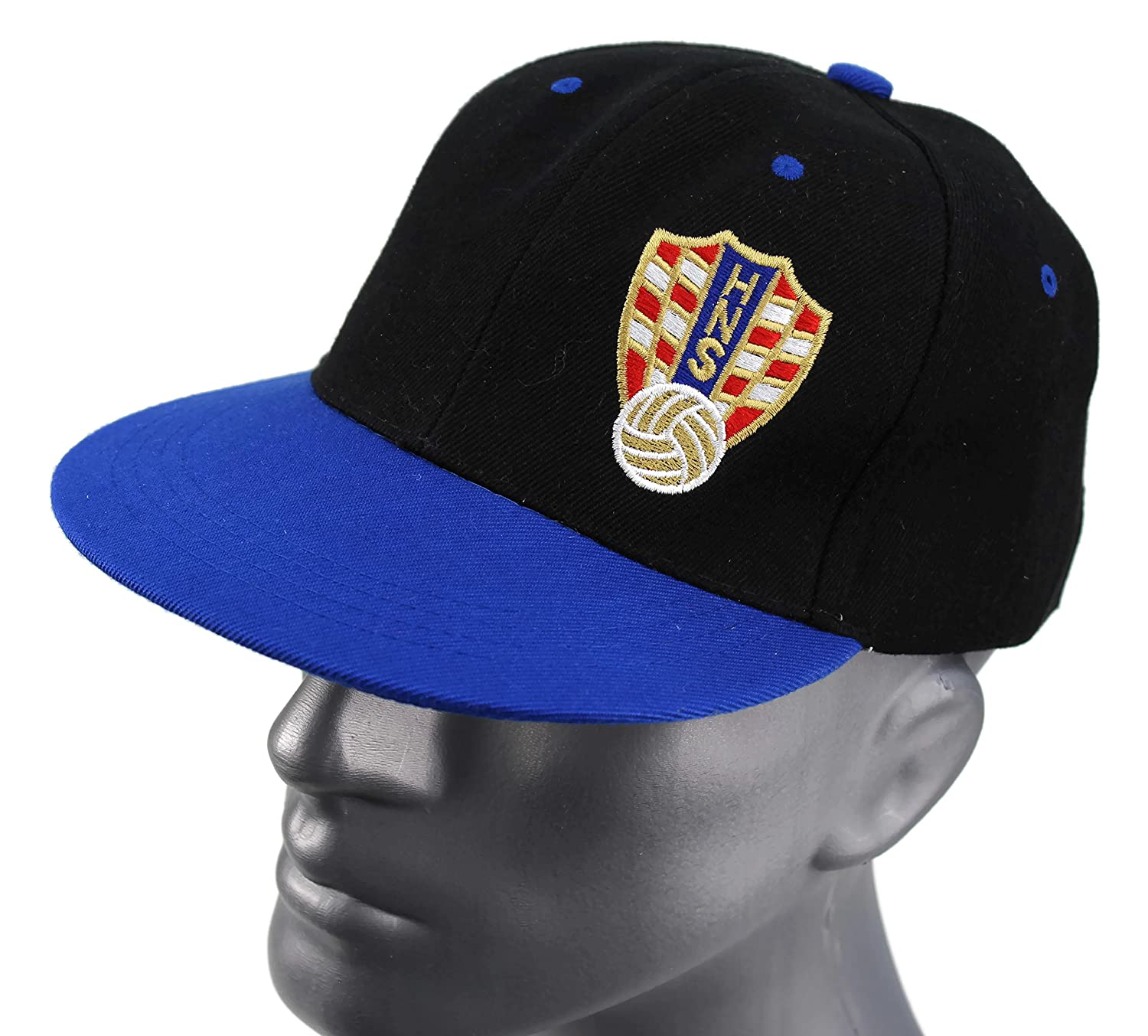 """High End Hats /"""" World Football//Soccer Team Flat Brim Hat Collection /"""" Embroidered Adjustable Hip Hop Style Snapback Baseball Cap"""
