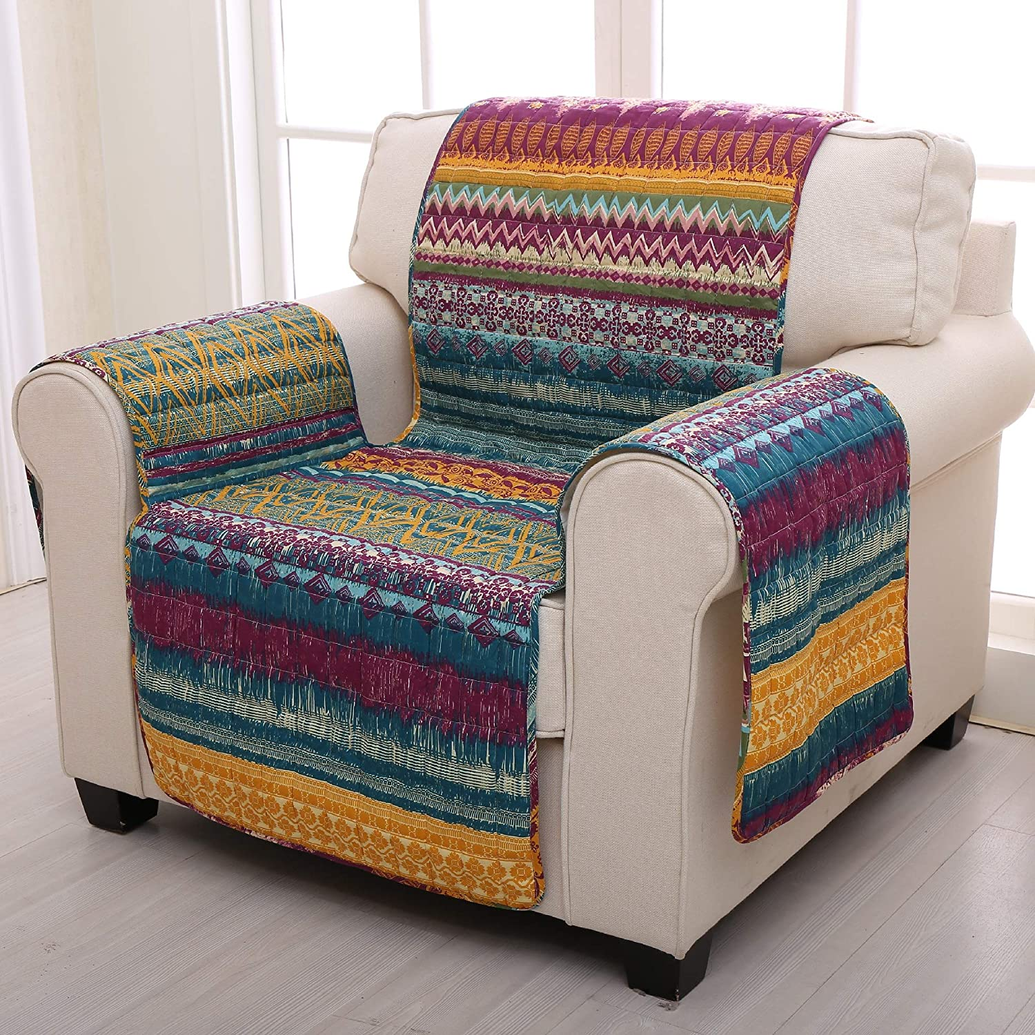Greenland Home Southwest Furniture Protector, Loveseat Greenland Home Fashions GL-1412FFPL
