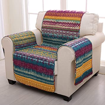 Amazon.com: Groenlandia Home Fashions Southwest Arm Chair ...