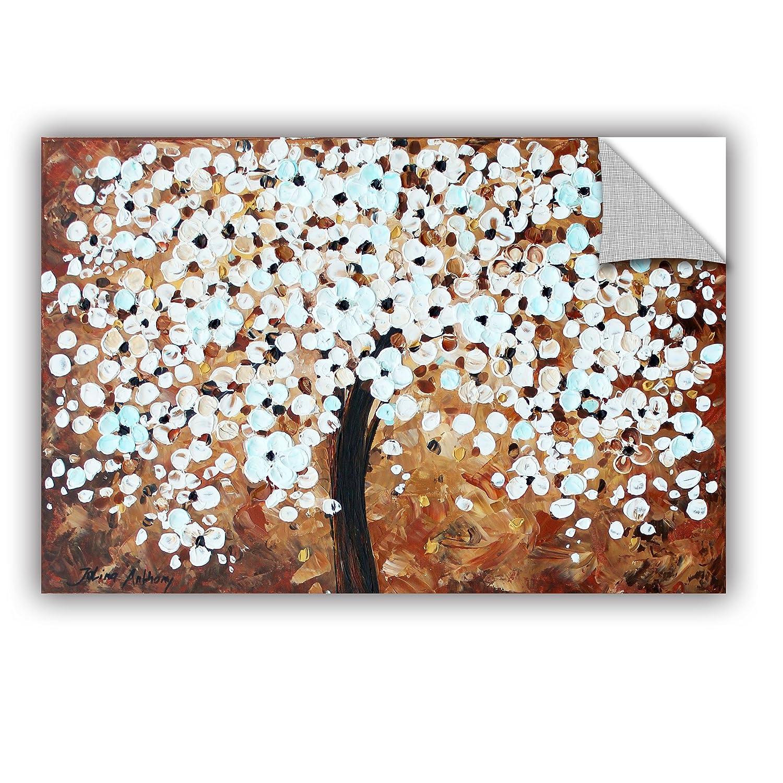 Brown 24x 36 ArtWall Jolina Anthonys Wonderland Removable Wall Art Mural