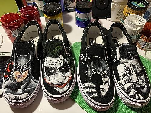 Amazon.com: The Joker Batman Sneakers