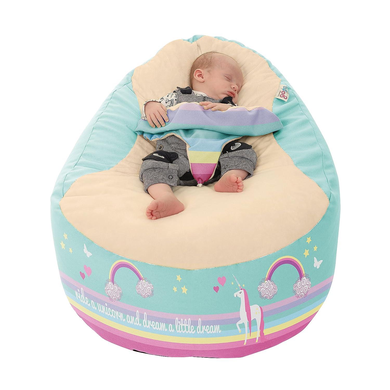 Peachy Rucomfy Gaga Plus Luxury Baby And Toddler Bean Bag Creativecarmelina Interior Chair Design Creativecarmelinacom