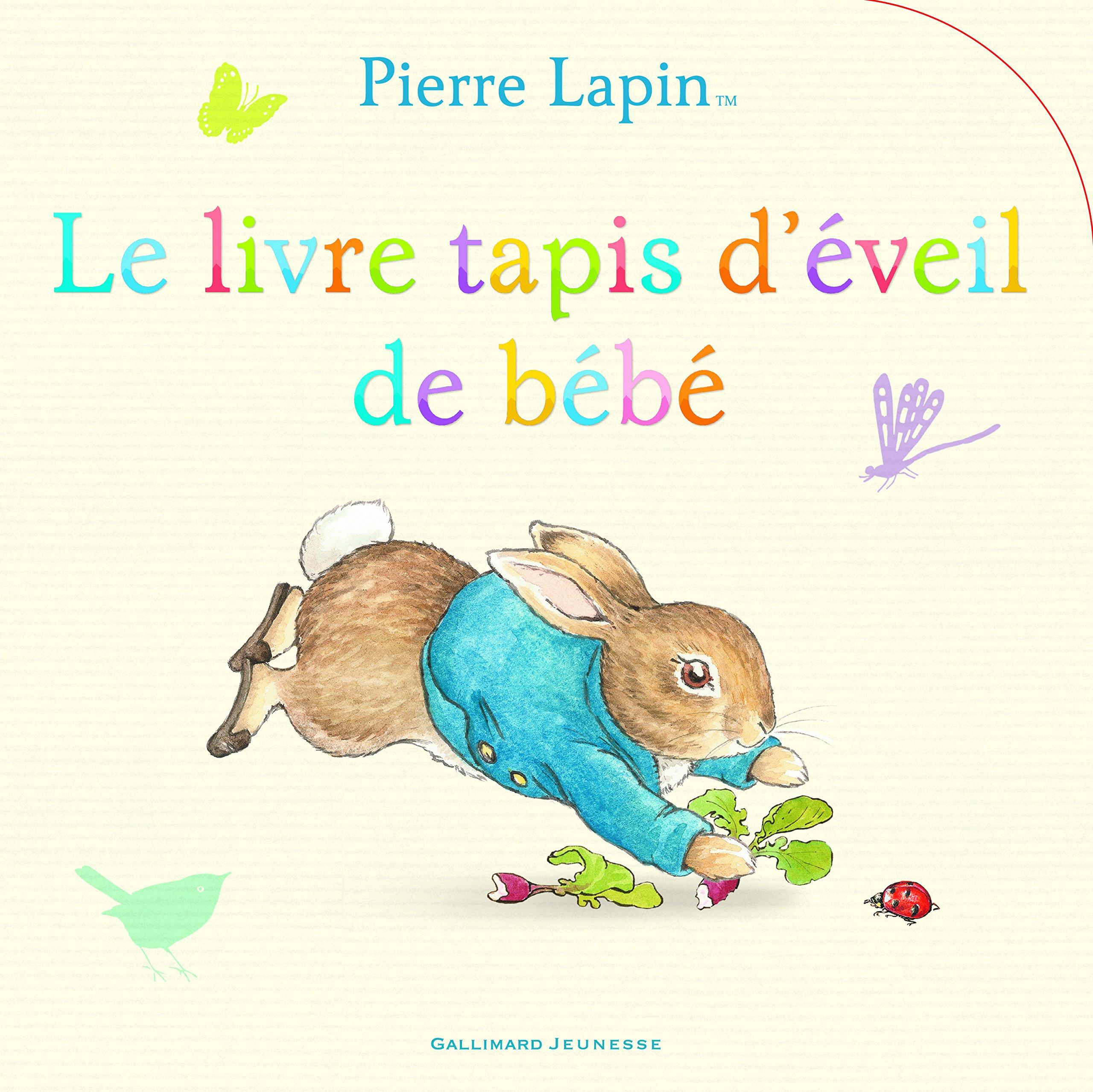 Pierre Lapin : Le livre tapis déveil de bébé: Amazon.es: Beatrix Potter: Libros en idiomas extranjeros