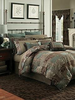 Croscill Philomena Queen Comforter Set 4 Pieces NIP,